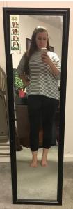 at mirror
